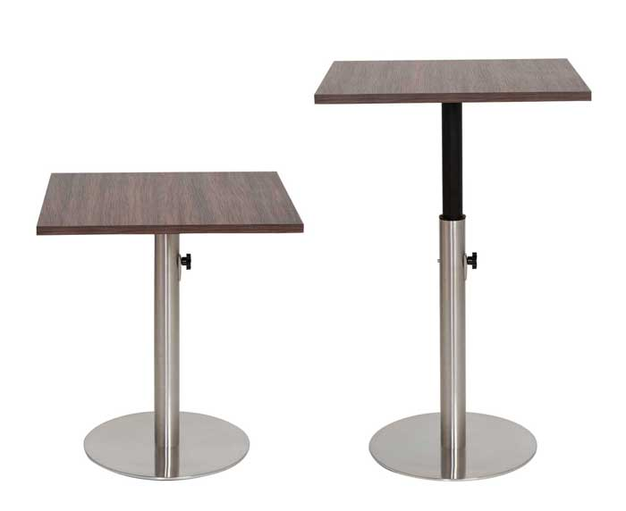 Height Adjustable Tables Dining And Bar Pub