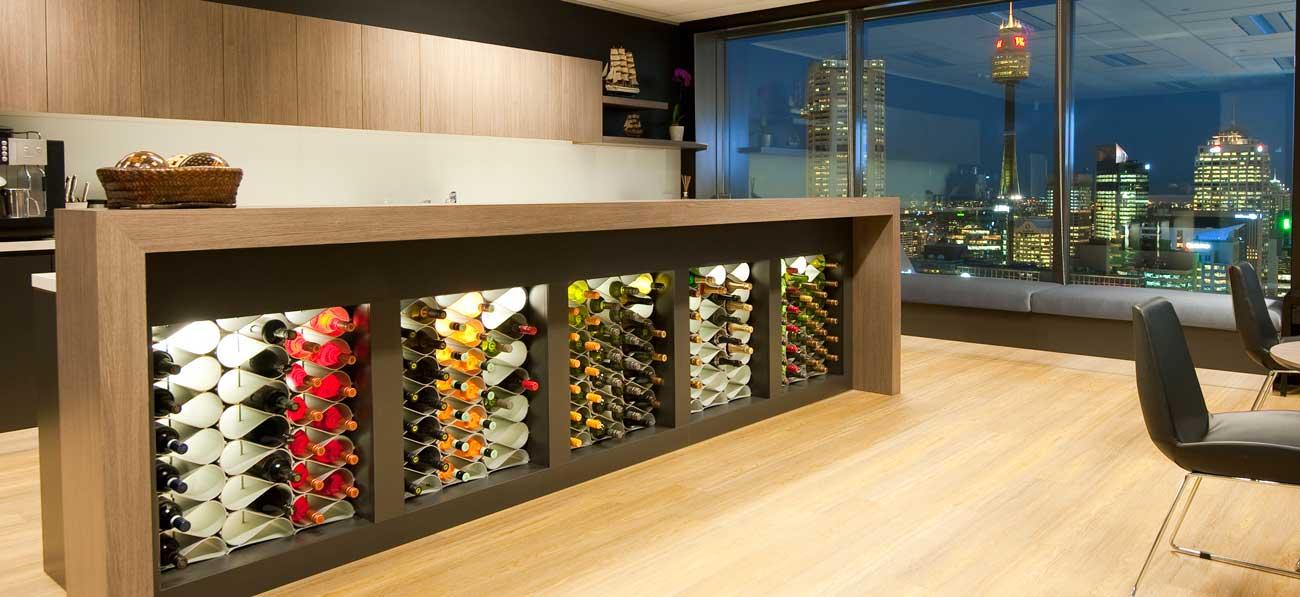 Modular Wine Racks for Cellar and Kitchen
