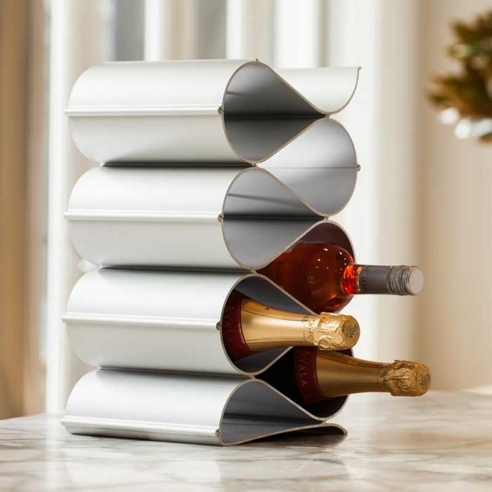 Tabletop wine racks wave by Echelon