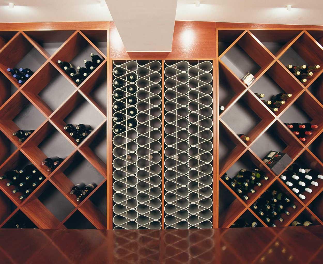 Wine Racks For Custom Kitchens Amp Cellars Wine Rack