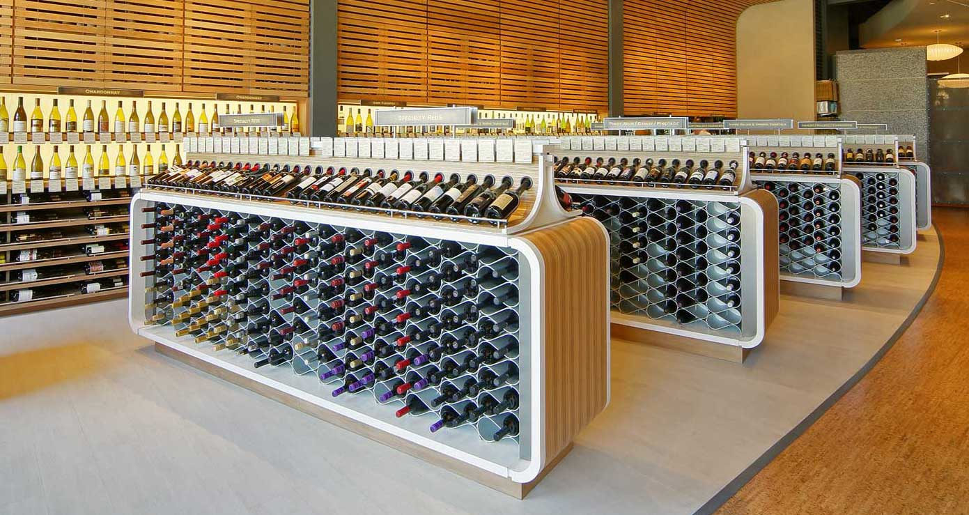 Wine Racks For Custom Kitchens Amp Cellars Wine Rack
