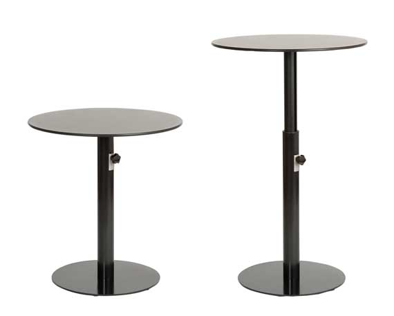 Table Bases Adjustable