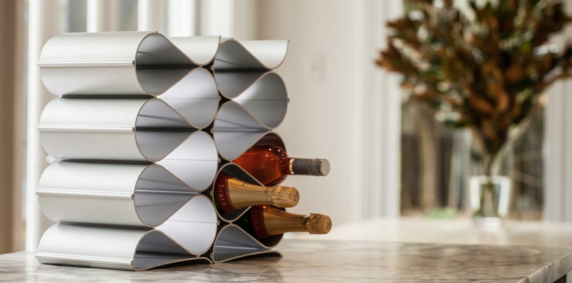 Wine Racks cool design for countertop and table