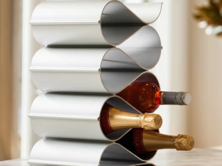 Tabletop wine racks wave by Echelon