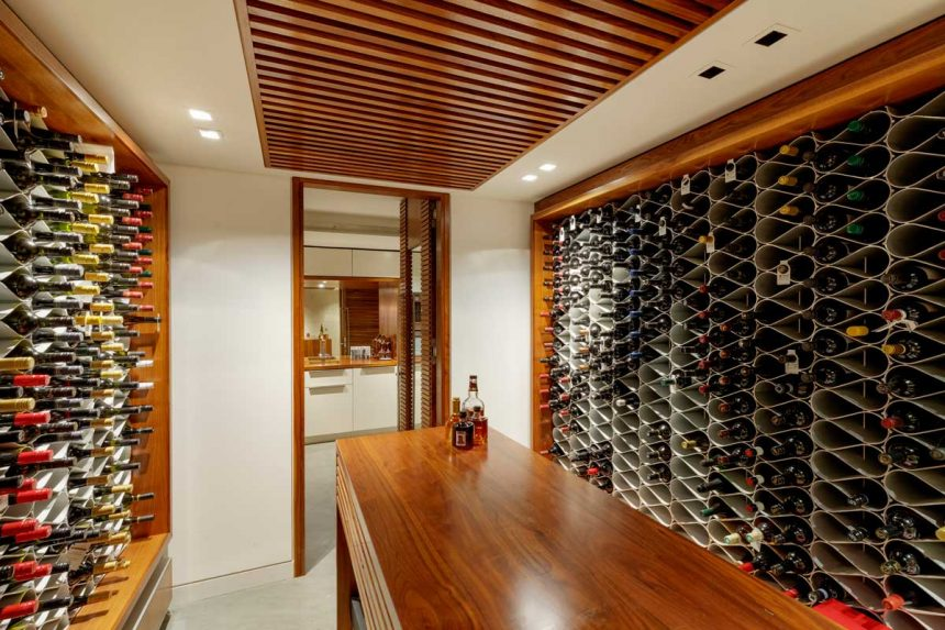 wine cellar racking
