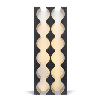 wine cabinet insert black