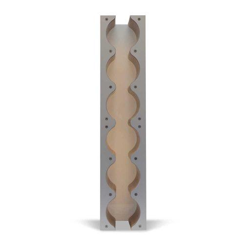 Rhythm wine rack cabinet insert