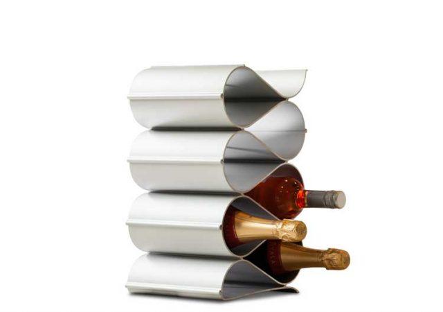 alloy metal wine racks for countertop