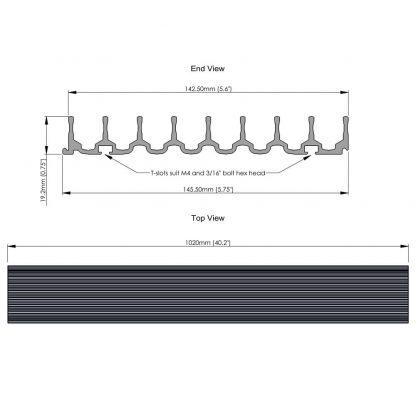 DVD storage rack dimensions