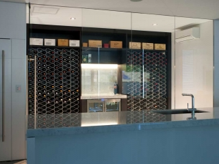 wine room in home